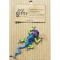 Wire 3D Lizard Keyring (Keyring)