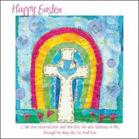 Easter Rainbow Easter Cards (pack of 5)