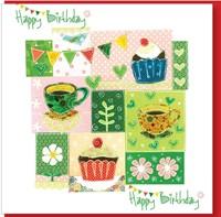 Birthday Coffee Greetings Card