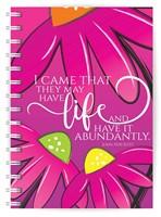 Abundant Life A5 notebook (Paperback)