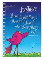 Believe A5 Notebook (Paperback)