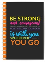 Be Strong A5 Notebook (Paperback)