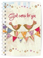 God Cares A5 Notebook (Paperback)