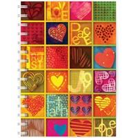 Love, Peace, Trust A5 Notebook (Paperback)