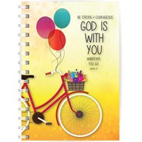 God is With You A5 Notebook (Paperback)