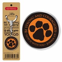Be Strong and Courageous Keyring (Keyring)