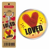 Loved Keyring (Keyring)