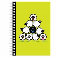 Sheep A5 Notebook (Paperback)