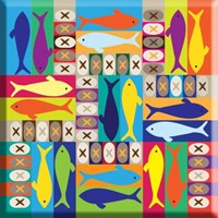 Loaves & Fish Magnet