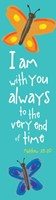I Am With You Always Bookmark (Pack of 10) (Bookmark)
