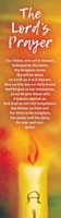The Lord's Prayer Bookmark (Pack of 10) (Bookmark)