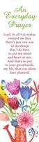 Everyday Prayer Bookmark (Pack of 10) (Bookmark)
