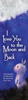 I Love You to the Moon Bookmark (Pack of 10)