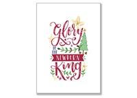 Newborn King Christmas Magnet