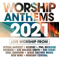 Worship Anthems 2021 CD