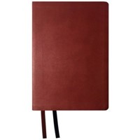 NASB 2020 Giant Print Text Bible, Maroon, Indexed (Imitation Leather)