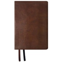 NASB 2020 Giant Print Text Bible, Brown, Indexed (Imitation Leather)
