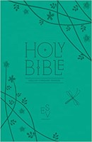 ESV Holy Bible, Anglicised Compact Edition with Zip, Teal (Leather Binding)
