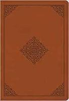 ESV Large Print Compact Bible, TruTone, Terracotta (Imitation Leather)