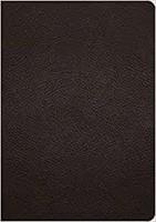 ESV Study Bible, Buffalo Leather, Deep Brown (Genuine Leather)