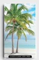 2021 28-Month Planner: Beaches (Paperback)