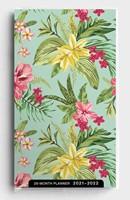 2021 28-Month Planner: Palm/Floral (Paperback)