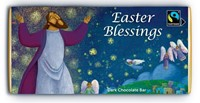 Easter Blessings Dark Chocolate Bar (General Merchandise)
