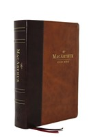 ESV MacArthur Study Bible, 2nd Edition, Brown (Imitation Leather)