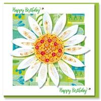 Daisy Birthday Greetings Card