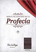 Biblia de Estudio de la Profecía, Marrón con Índice (Imitation Leather)