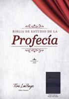 Biblia de Estudio de la Profecía, Negro con Índice (Imitation Leather)