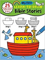 My First Learn to Draw Bible Stories (Spiral Bound)