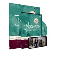 Ephesians Study Guide with DVD (Paperback w/DVD)
