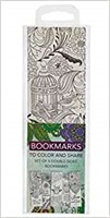 Colouring Bookmarks: Green (pack of 5) (Bookmark)