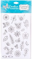 Colourable Sticker Sheets (Stickers)