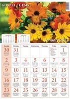2022 Calendar: Gospel Gems