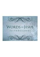 Faithbuilders: Words of Jesus (Cards)