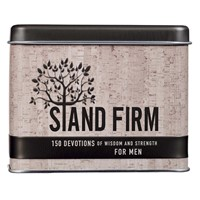 Stand Firm Card Tin (Cards)