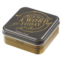 Word for Today Scripture Card Tin (Cards)