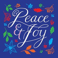 Peace and Joy Charity Christmas Cards (pack of 10)