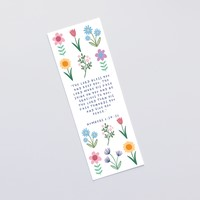 The Lord Bless You (Spring) Bookmark (Bookmark)