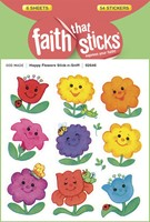 Happy Flowers Stick-N-Sniff (Stickers)