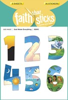 God Made Everything - Faith That Sticks Sticker