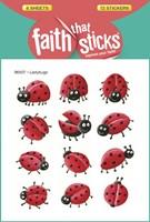 Ladybugs - Faith That Sticks Stickers