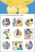 New Testament Bible Stories (Stickers)