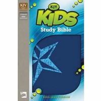 KJV Kids Study Bible (Leather Binding)