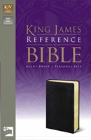 KJV Reference Bible Giant Print Black