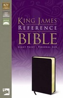 KJV Reference Bible, Giant Print, Black