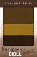 KJV Backpack Bible (Leather-Look)