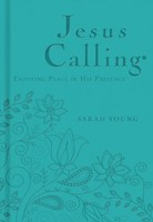 Jesus Calling - Deluxe Edition Teal Cover